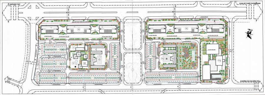 Quy hoạch chi tiết Mặt bằng Khu đô thị khai Sơn City