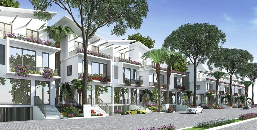 Thiết kế lý tưởng của Shophouse Khai Sơn City