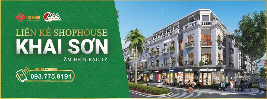 Giới thiệu 1 vài thông tin về Shophouse Khai Sơn Town Long Biên