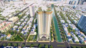 Phối cảnh Chung cư Khai Sơn Tower - ảnh minh họa