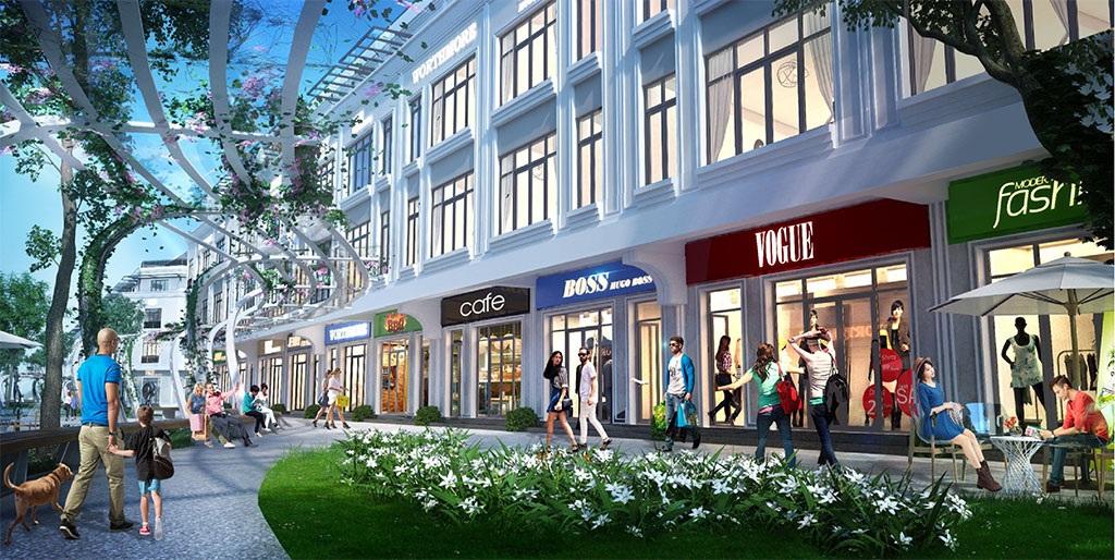 Phân khu nhà phố thương mại Shophouse tại Khai Sơn Hill
