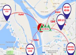 Đánh giá yếu tố Ưu điểm Dự án Khai Sơn City Long biên