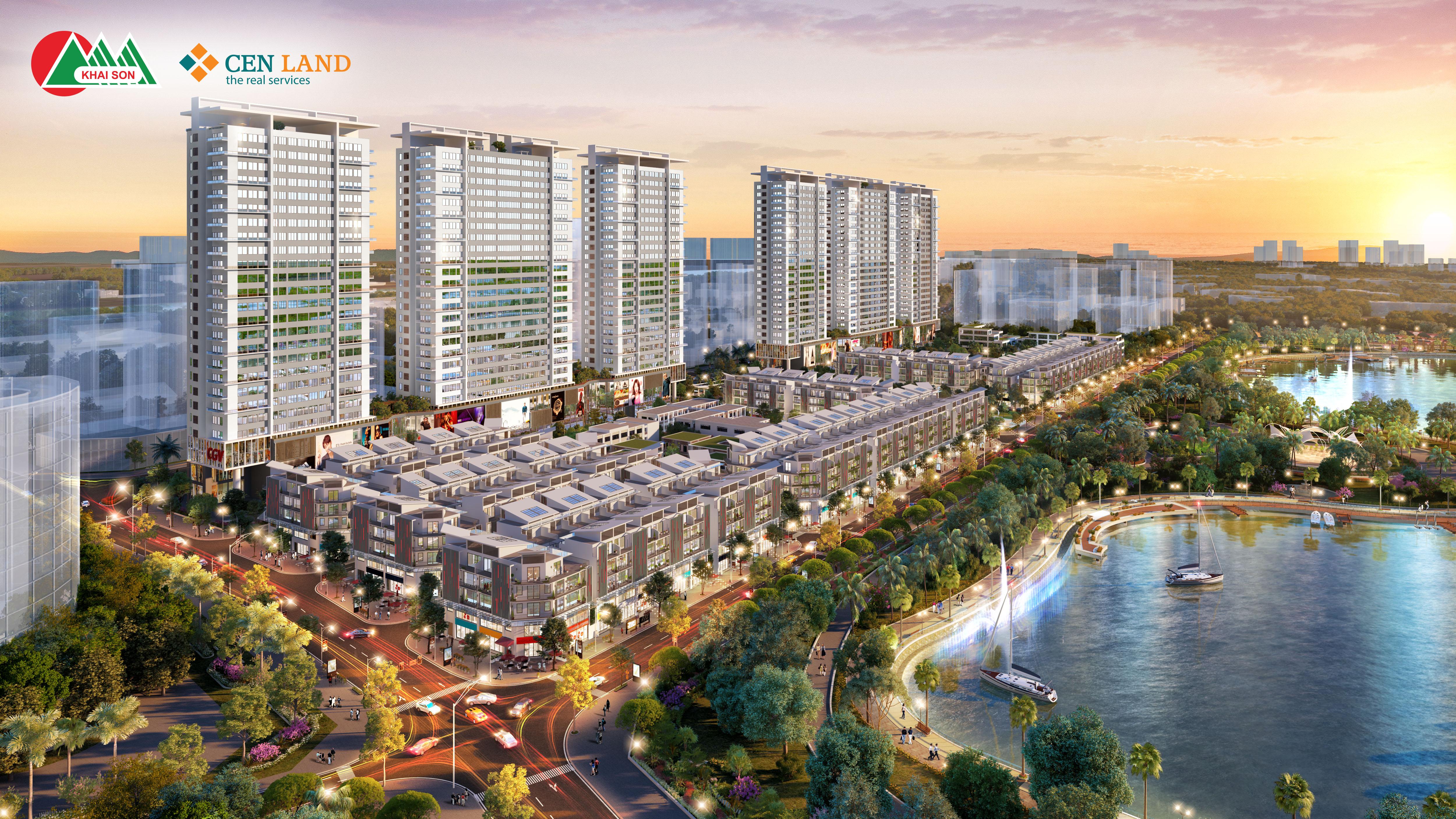 Dự án Khai Sơn City Long Biên