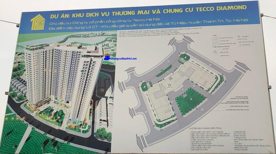 phối cảnh chính thức của Dự án Tecco Diamond